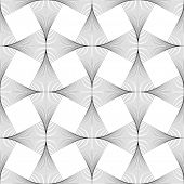 Abstract optical art illusion seamless background