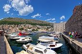 Old Port Of Dubrovnik, Croatia