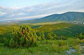 Caucasus Mountains In Kabardinka, Russia