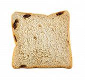 White Bread With Raisin