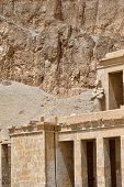 picture of hatshepsut  - The temple of Hatshepsut near Luxor in Egypt - JPG