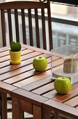 Terrace Table And Decoration