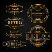 retro label