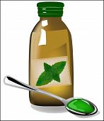 Therapy Mint Syrup In A Bottle