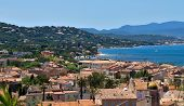 Saint Tropez - Architecture Of City From Above