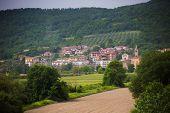 Italian town landscape