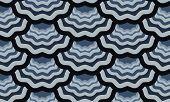 seamless scale wavy pattern