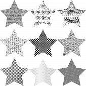Set Grunge Star