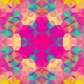 Vector Kaleidoscope Mosaic