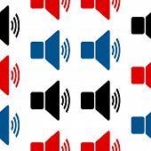 Wi-fi Symbol Seamless Pattern