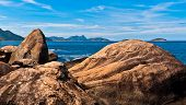 Rio de Janeiro Coast Rocks