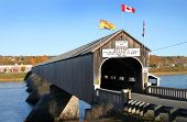 Hartland Wooden Covered Bridge