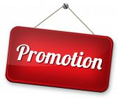 promotions in job or product sales promotion