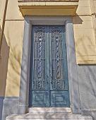 vintage house door, Athens Greece