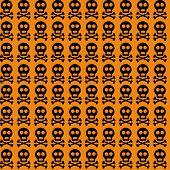 Halloween seamless vector pattern.