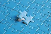 The Missing Piece Of Puzzle, Success, Teamwork And Finishing