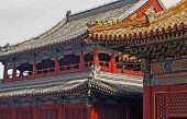 Lama Temple In Beijing, Oil Paint Stylization