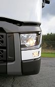 Renault Truck Tractor T480, Headlight Detail