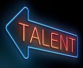 Talent Concept.