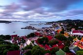 View point on Si Chang island thailand