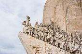 Portugal, age of discovery monument in Lisbon