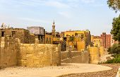 City Walls Of Cairo In The Islamic District - Egypt