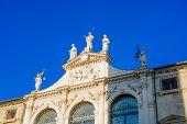 foto of palladium  - The facade of Palazzo Del Monte di Pieta in Piazza dei Signori Vicenza Veneto Italy - JPG