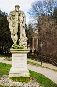 foto of vicenza  - A statue in the Giardino Salvi garden in Vicenza Veneto Italy - JPG