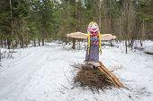 Ivanovo, Russia, February 22, 2015. On The Holiday Of Maslenitsa