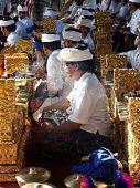 Balinese Gamelan Players