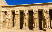 Ancient Figures In The Medinet Habu Temple - Egypt