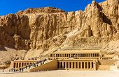 image of hatshepsut  - Mortuary temple of Hatshepsut in Deir el - JPG