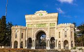 Entrance Gate Of Istanbul University - Turkey