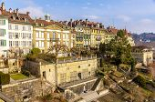 The Riverside Terrace Of The Beatrice-von-wattenwyl-haus In Bern, Switzerland