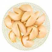 Fortune Cookies On A Plate
