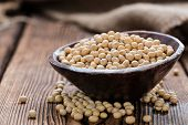 picture of soya beans  - Portion of Soy Beans  - JPG