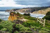 Coastal Cliff in Northern California