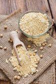 Heap Of Soy Flour