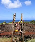 Ancient Hawaiian Heiau, North Shore Oahu