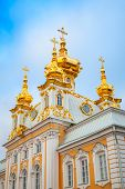 Church Of St. Peter And Paul In Peterhof, St. Petersburg