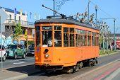F-line Antique streetcar, San Francisco, USA