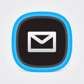 Colorful Flat Mail icon