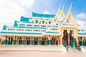 stock photo of northeast  - Wat Pa Phu Kon In Northeast Udonthani - JPG