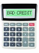 Calculator With Bad Credit