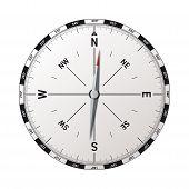 modern compass vector
