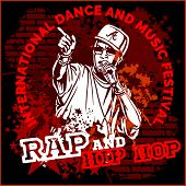 image of gangsta  - Rap hip hop graffiti  - JPG