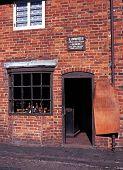 Victorian cobblers workshop, Dudley.