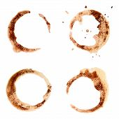 Coffee Cup Stains For Design