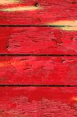 Old Red Wood Wall Texture Background