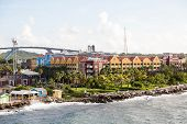 Colorful Resort By Curacao Bridge